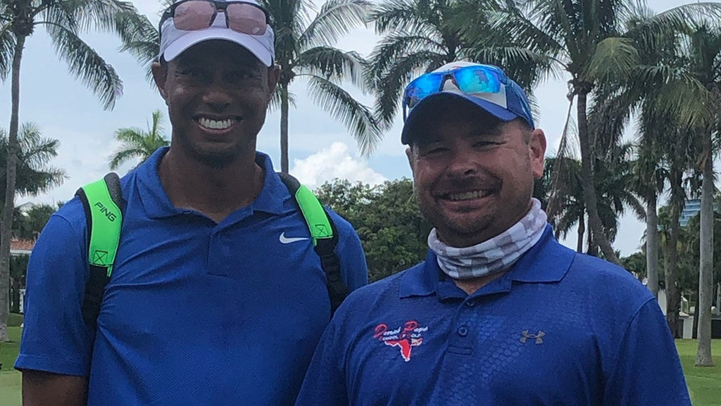 What one man learned from caddying with Tiger Woods
