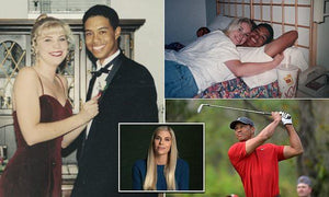 'It was like a death': Tiger Woods' high school girlfriend recalls how the golfer suddenly dumped her by LETTER after three years