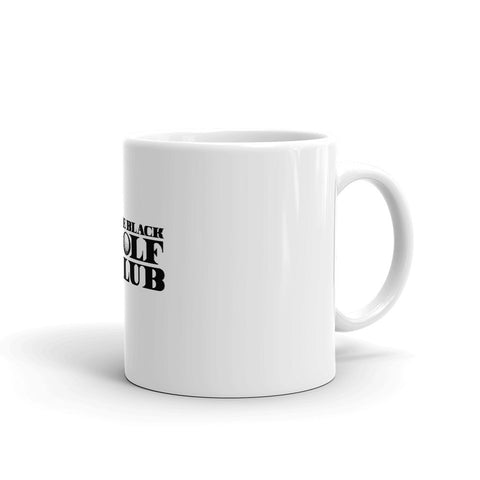 The BLACK GOLF CLUB Collection Mug