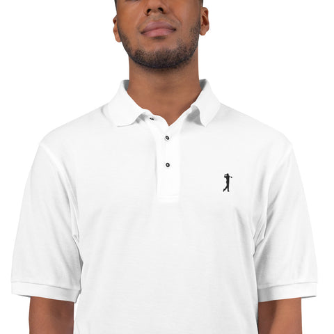 The BLACK GOLF CLUB Collection H.C.C Men's Premium Polo