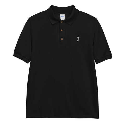 BLACK GOLF CLUB COLLECTION Embroidered Polo Shirt