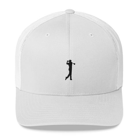 The BLACK GOLF CLUB Collection Trucker Cap