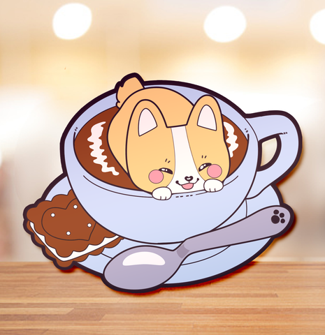 Cafe Latte Pin