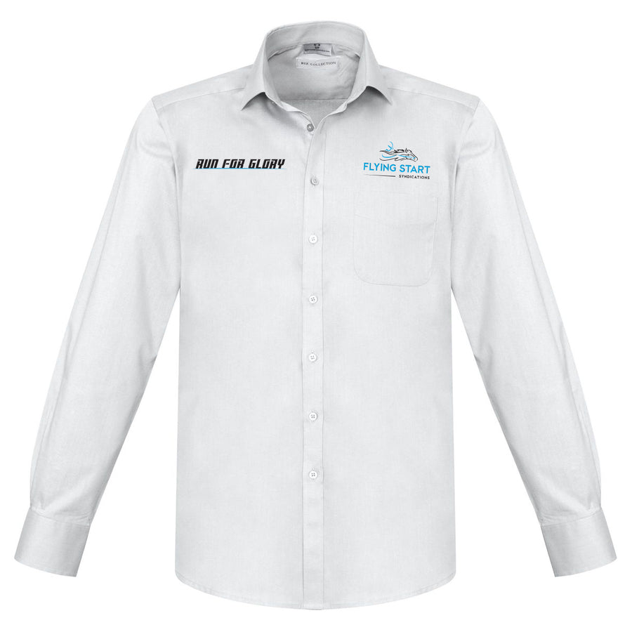 Flying Start - Business Shirt Personalised Horse Name