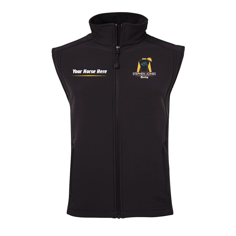 S Jones Soft Shell Layer Vest - Personalised