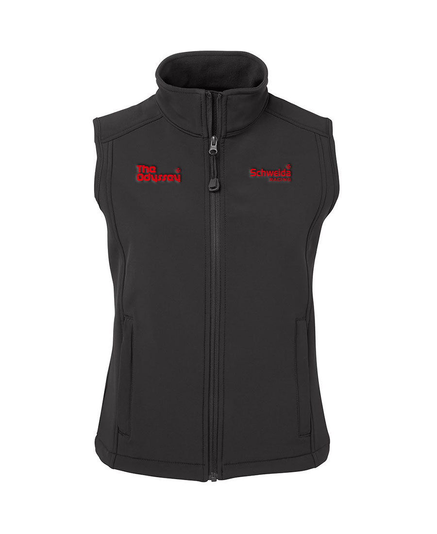 Schweida Soft Shell Layer Vest - Personalised Horse Name