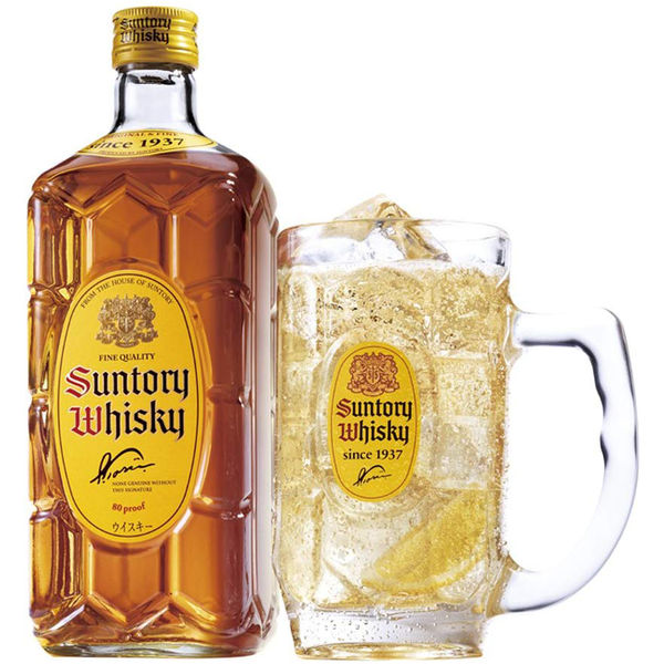 Suntory  Kakubin Whisky 700ml - サントリー角瓶 700ml