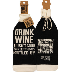 Keep Things Bottled Up Bottle Sock