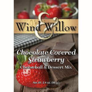 Chocolate Covered Strawberry Dessert Cheeseball Mix