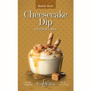 Butter Rum Cheesecake Dip Mix