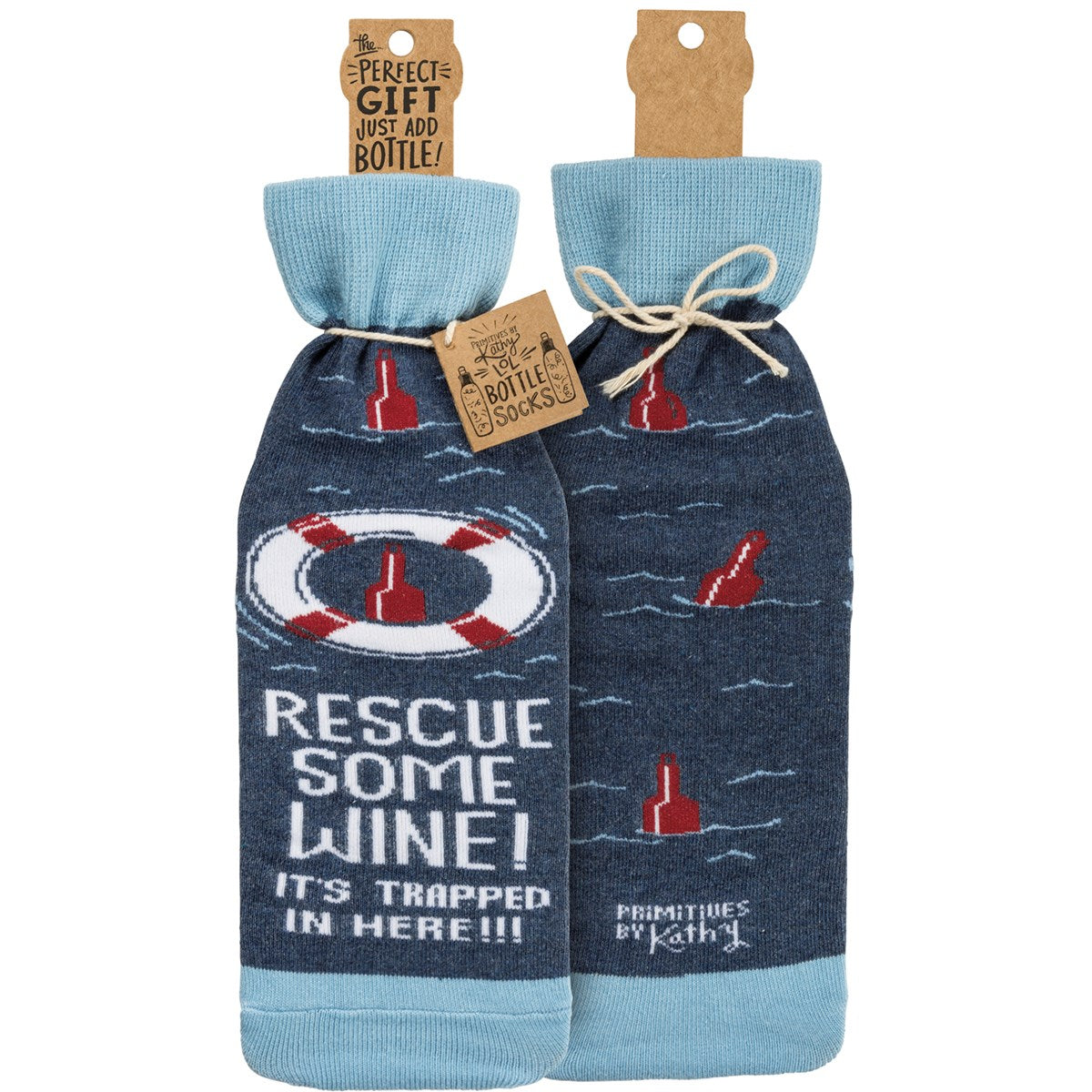 Rescue Some Wine Bottle Sock