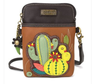 Cactus Chala Cell Phone Crossbody Bag