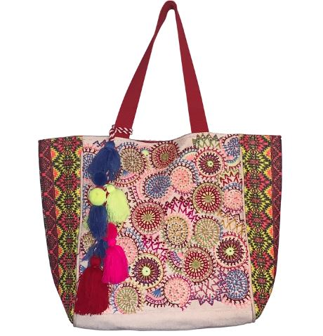 Marguerite Colors Tote Bag