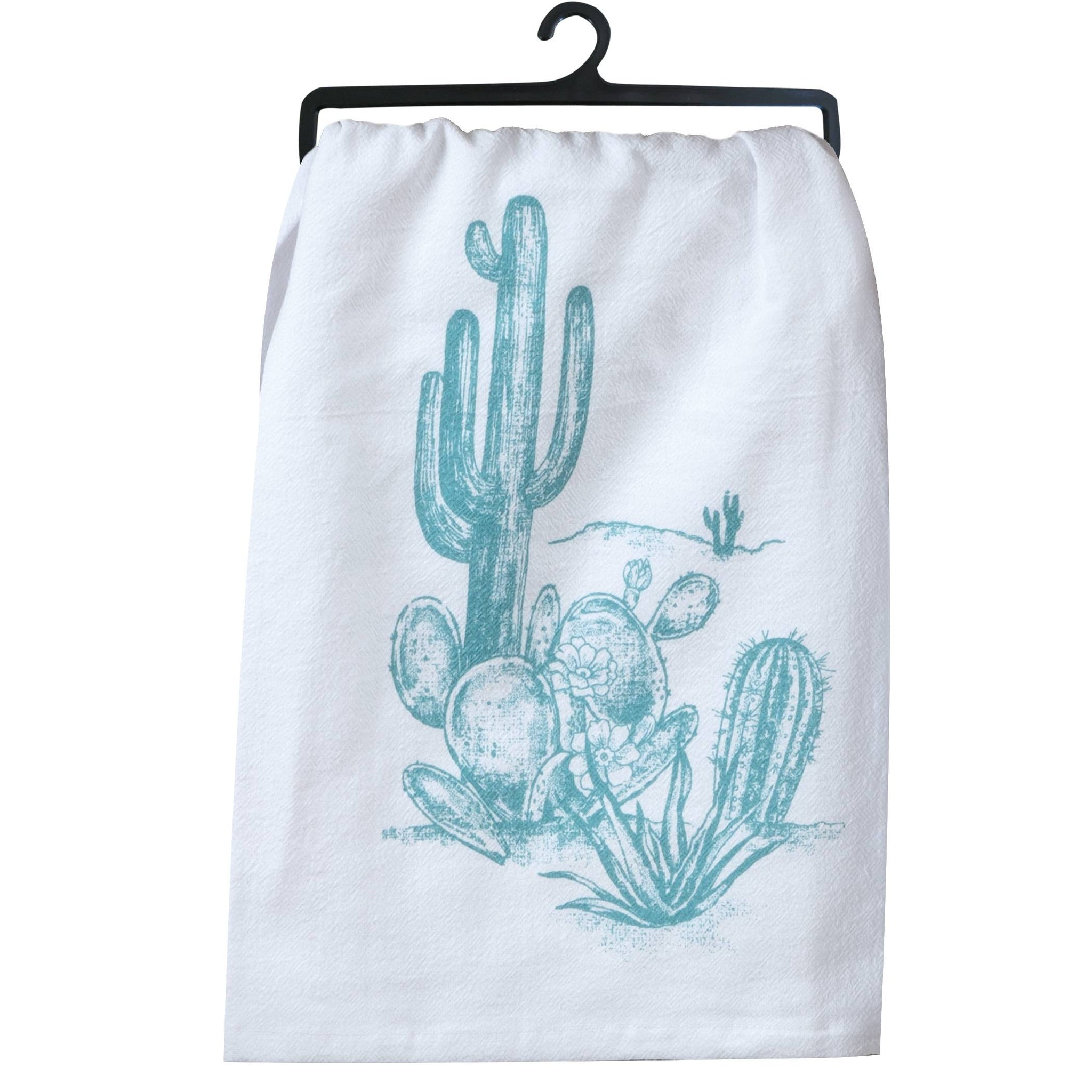 Southwest Craze Cactus Flour Sack Towel
