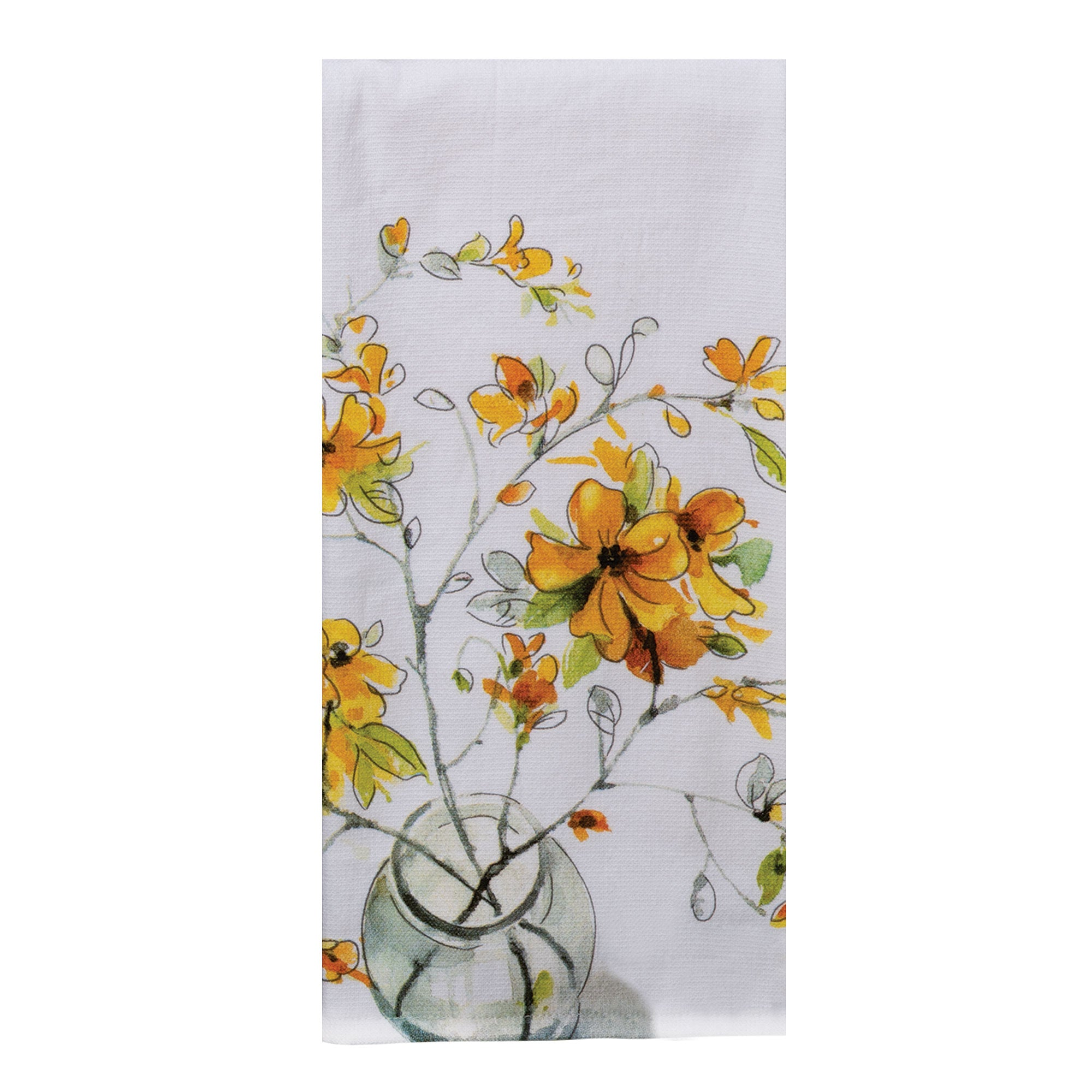 Home Sweet Forsythia Towel