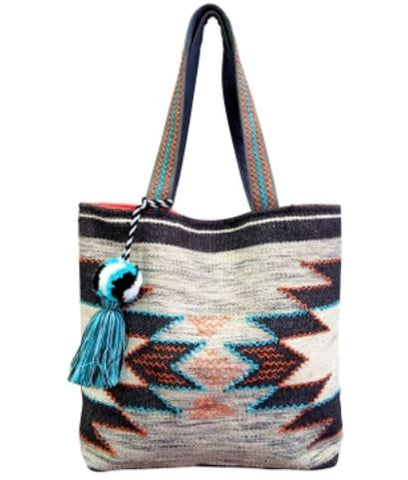 Savannah Mosaic Tote Bag