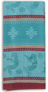 Kokopelli Jacquard Tea Towel