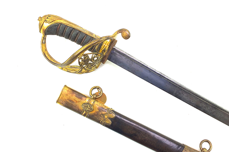 1822 Pattern Infantry Officers Pipe Back Sword British Military Swords for sale UK  Antique Edged Weapons