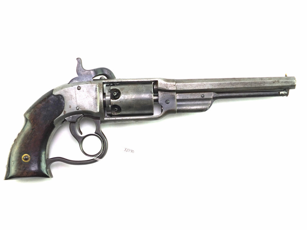 A Fine and Rare Savage Navy Model Percussion Revolver. SN: X1890