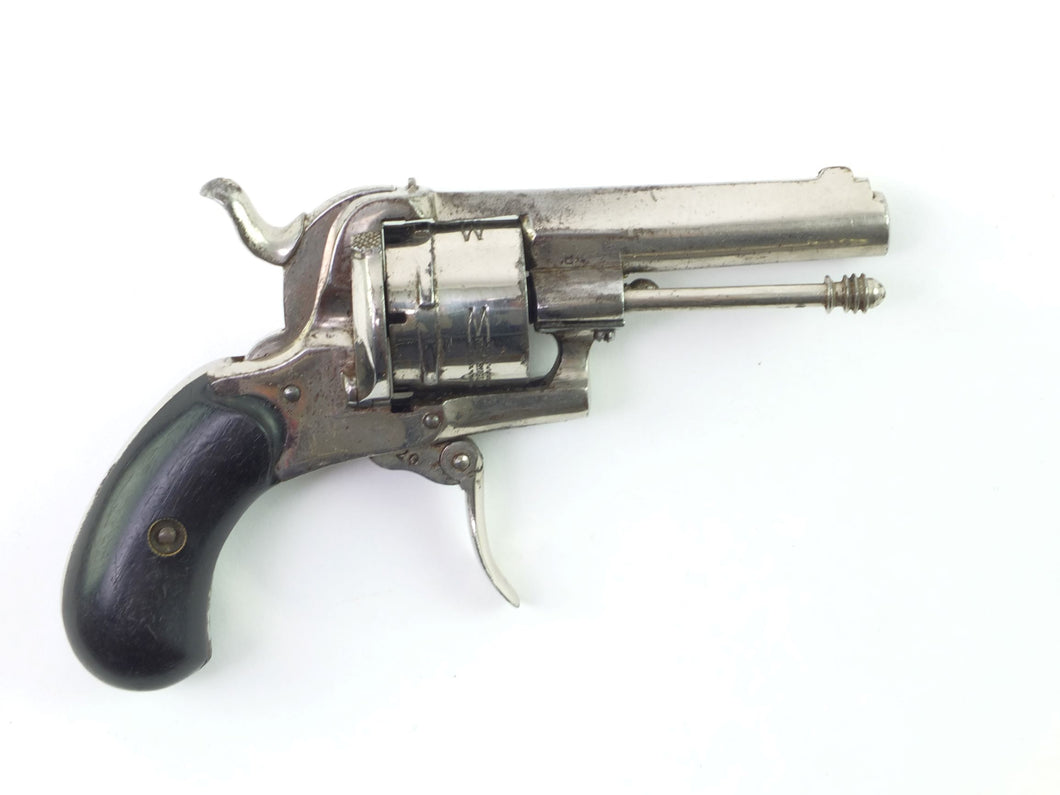 A New English Pattern 7mm Pinfire Revolver.