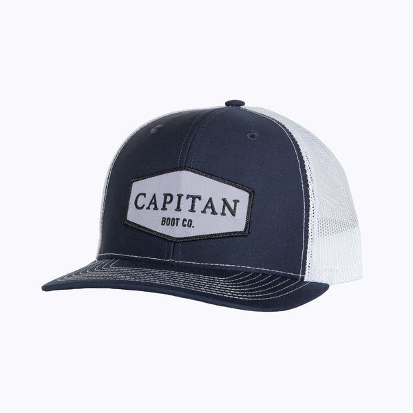 Boot Co Patch Cap Navy Cap - Capitan Boots