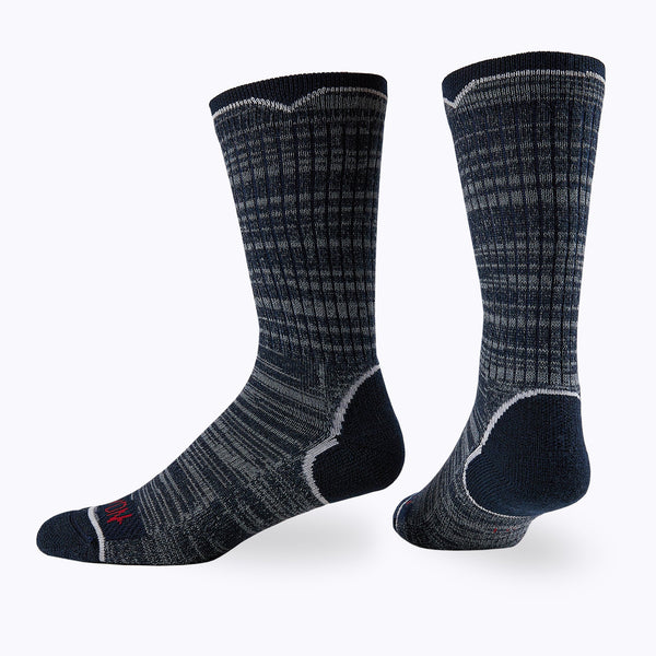 James Mid Calf Sock 3 Pack Mens Socks - Capitan Boots