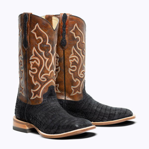 Hobart Nile Crocodile Boot - Capitan Boots