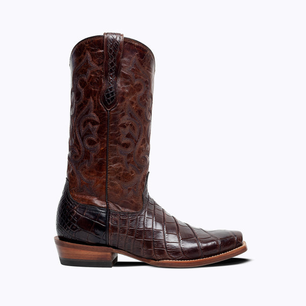Dallas American Alligator Boot - Capitan Boots
