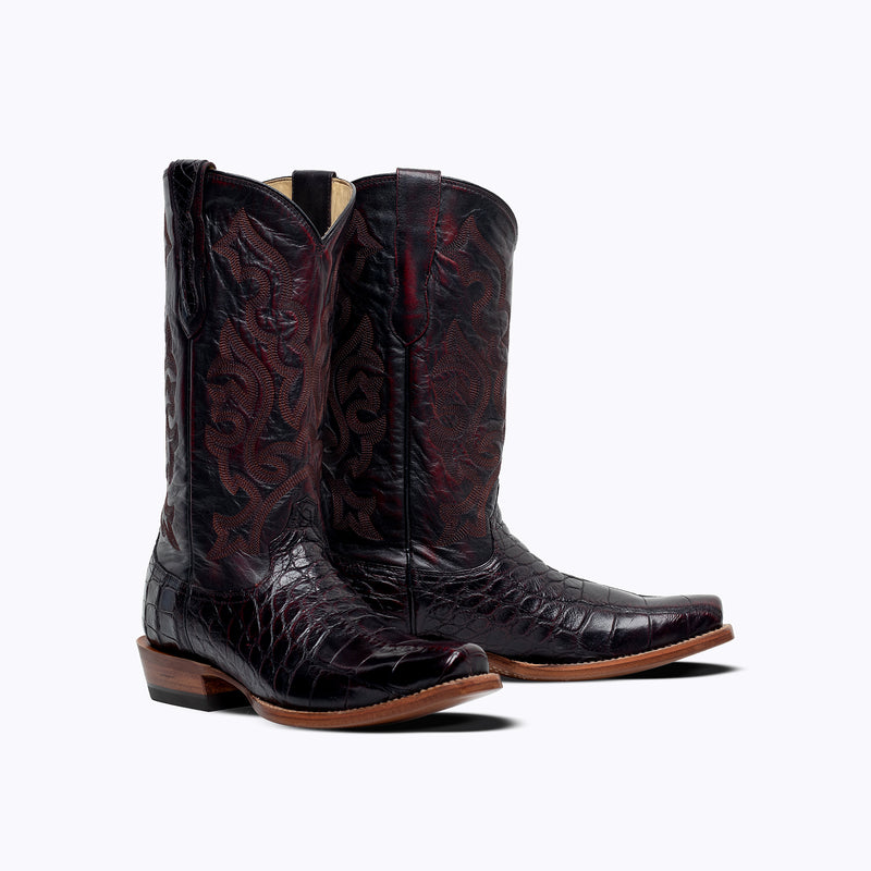 Fort Worth American Alligator Boot - Capitan Boots