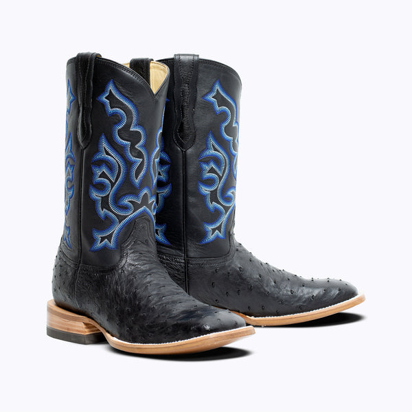 Hays Full Quill Ostrich Boot - Capitan Boots