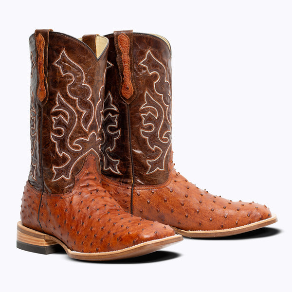 LaGrange Full Quill Ostrich Boot - Capitan Boots