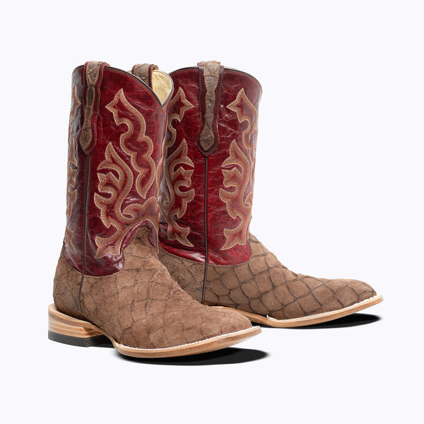 Silver City Mens Western Boot - Capitan Boots