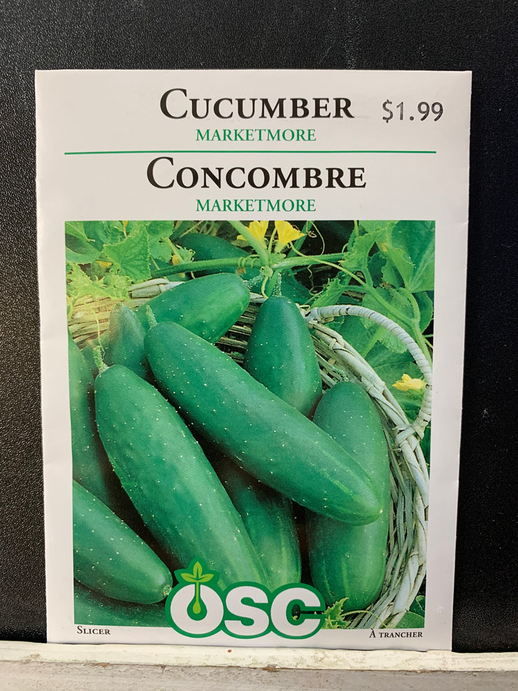 Load image into Gallery viewer, Marketmore Cucumber Seeds