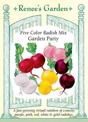 Load image into Gallery viewer, Five Colour Radish Mix - Garden Party