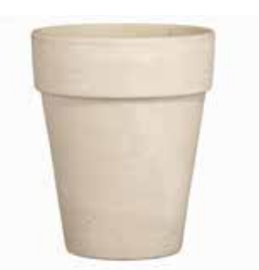 Pierson White Clay Planter 8.5""