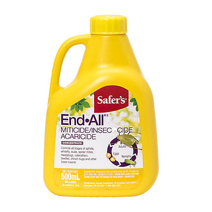 Load image into Gallery viewer, Safer's End All Miticide / Insecticide 500mL