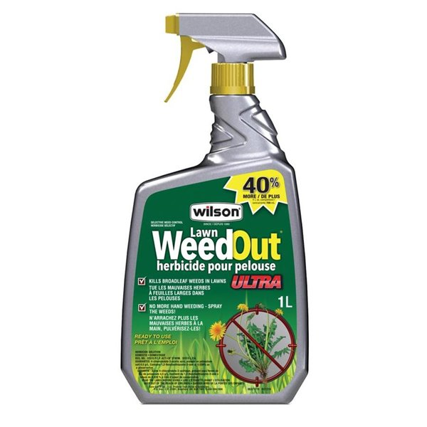 Wilson WeedOut Lawn Herbicide 1L