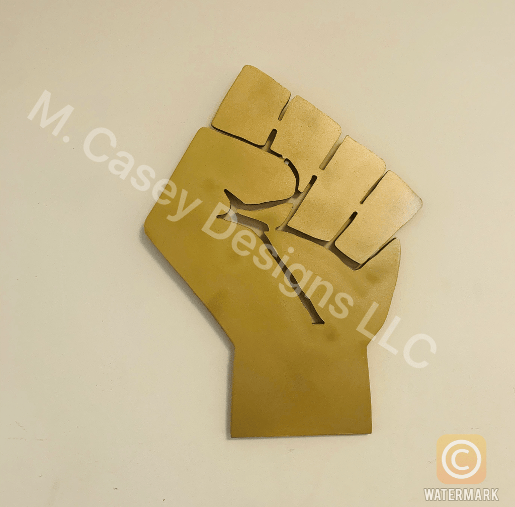 Rep Your Tribe Fist - M Casey Designs