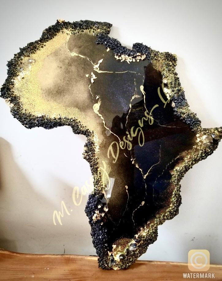 Custom Africa Wall Art - M Casey Designs
