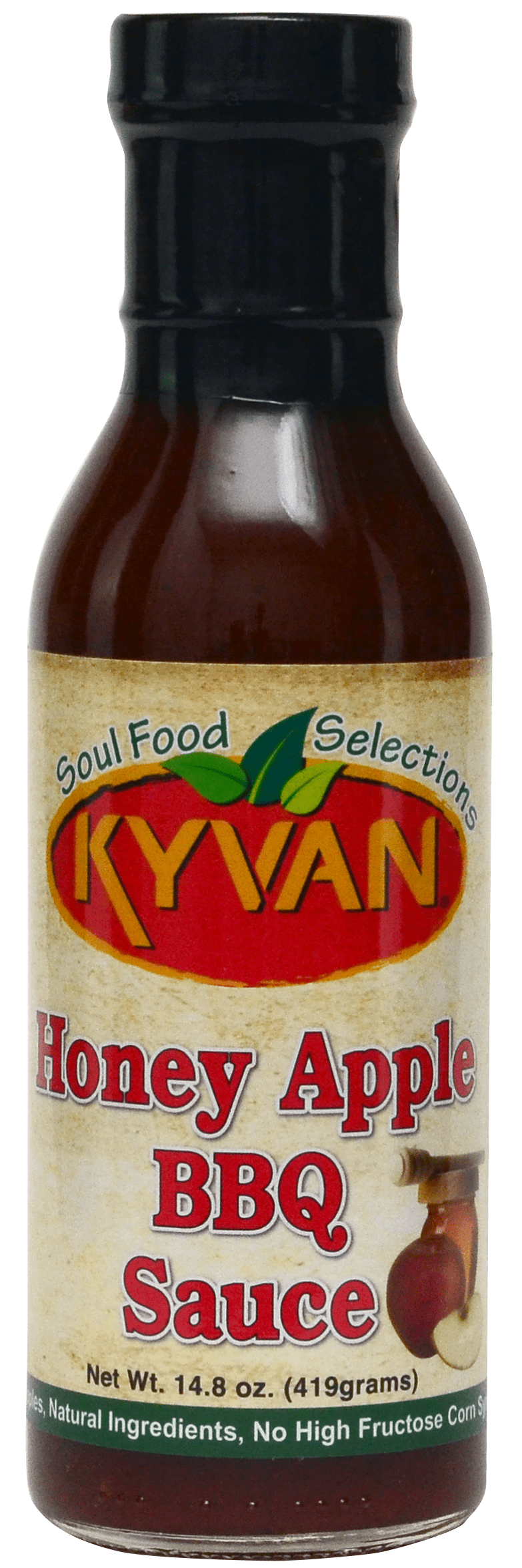 KYVAN™ Honey Apple BBQ Sauce– 15 oz - FLOWS Grocery