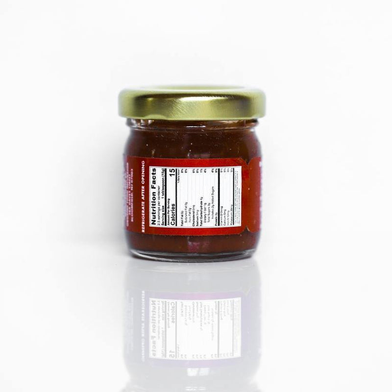 Strawberry Chipotle and Fig Jam 1.25 oz - FLOWS Grocery