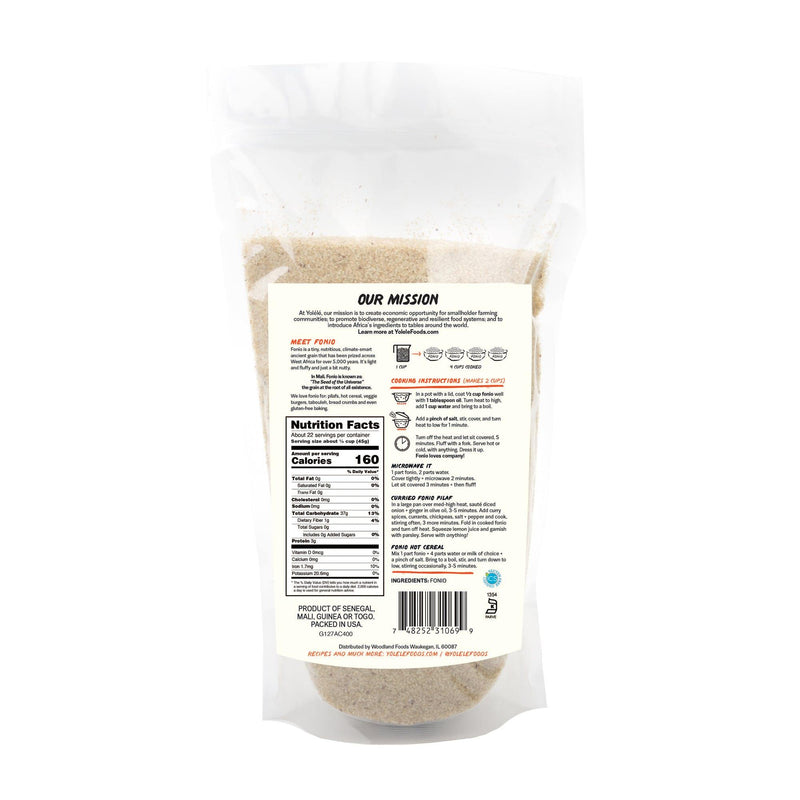 Copy of Fonio, Gluten-Free, Quick-Cooking, Ancient Grain- 2.25 lb - FLOWS Grocery