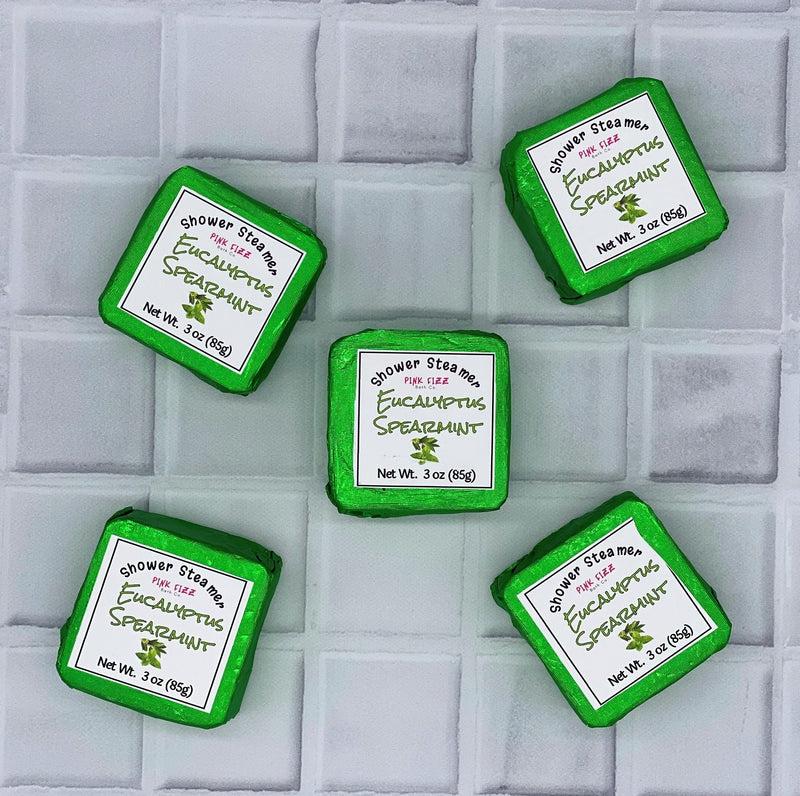 Eucalyptus Spearmint Soothing Shower Steamers - FLOWS Grocery