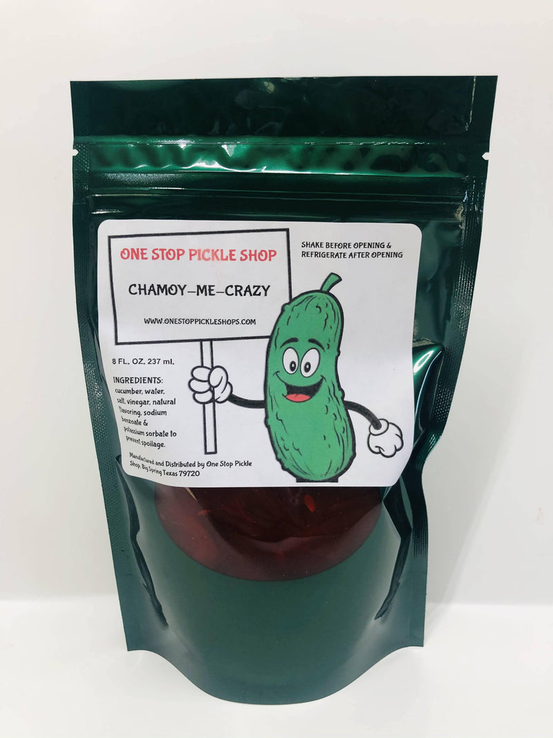 One Stop Pickle Shop CHAMOY ME CRAZY- 8 oz - FLOWS Grocery