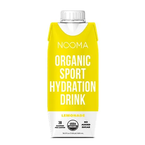 NOOMA Organic Electrolyte Sports Drinks - Lemonade 4-pack - FLOWS Grocery