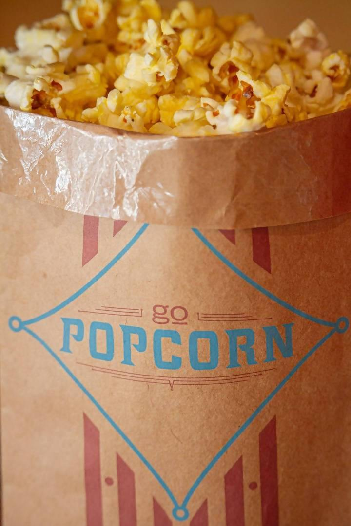 Go Popcorn Philly Buttery Moviestyle Corn- 12 oz - FLOWS Grocery