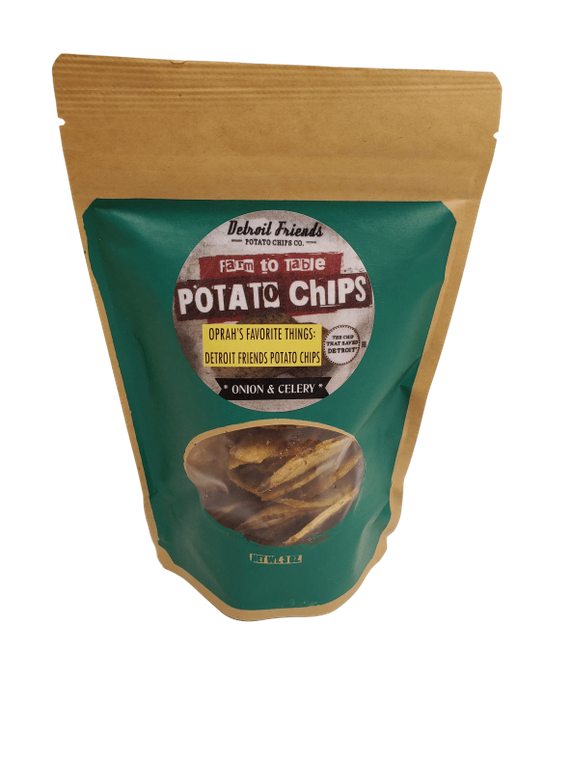 Onion & Celery Detroit Chips- 7 oz - FLOWS Grocery