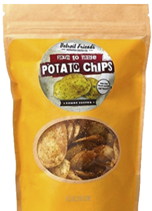 Lemon Pepper Detroit Chips- 7 oz - FLOWS Grocery
