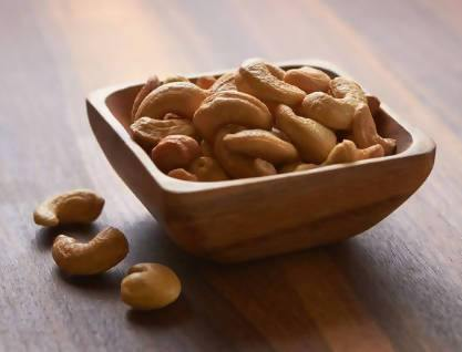 Unsalted Cashews- 1 lb - FLOWS Grocery (5726782128294)