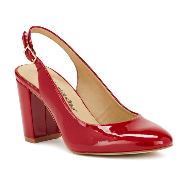 Michaela: Red Patent Leather
